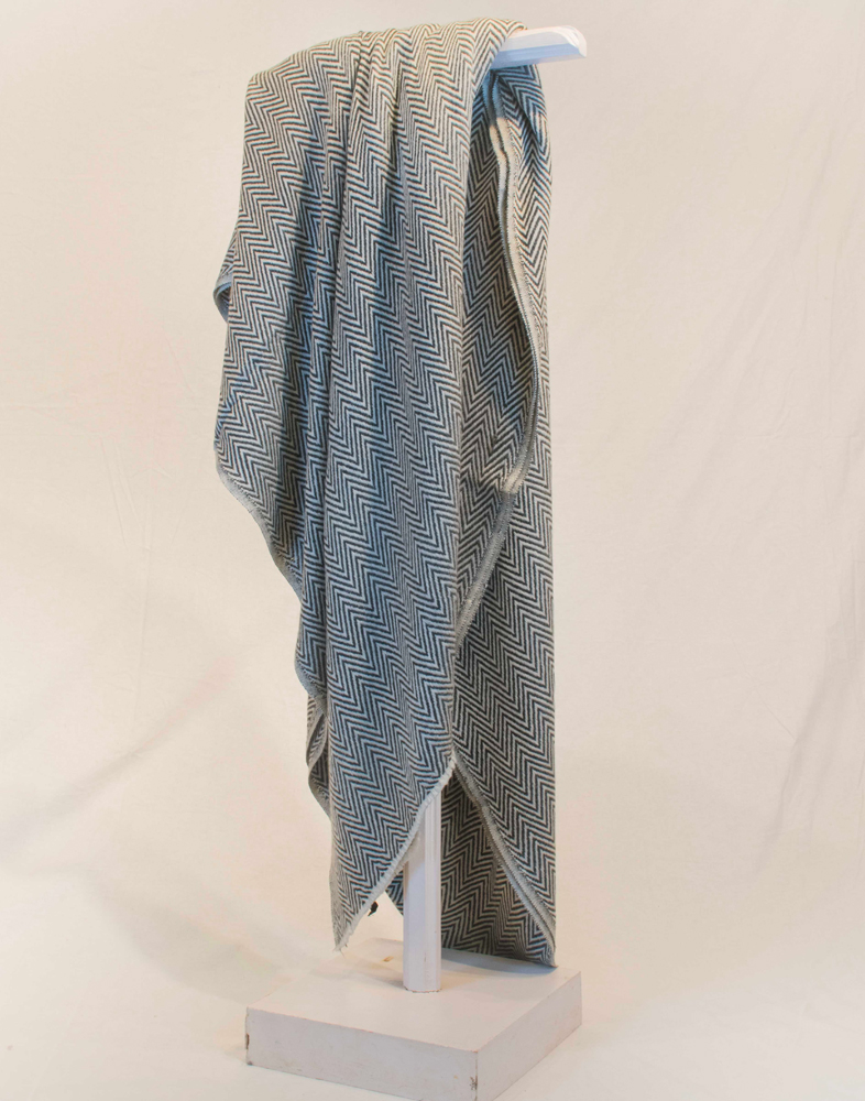 Dark Grey Cashmere Blanket